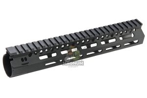 Angry Gun BCM Style CMR 10 inch M-LOK Rail Airsoft Version for GBB / AEG / PTW - Black