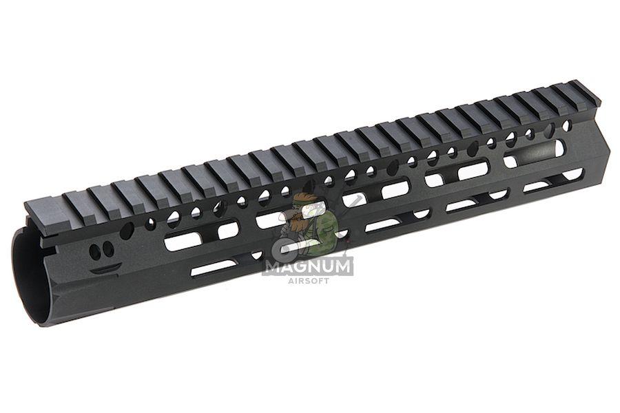 Angry Gun BCM Style CMR 10 inch M-LOK Rail Airsoft Version for GBB / AEG / PTW - Black