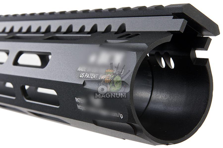 Angry Gun BCM Style CMR 13 inch M-LOK Rail Airsoft Version for GBB / AEG / PTW - Black
