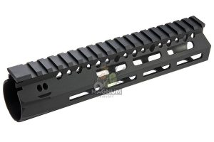 Angry Gun BCM Style CMR 8 inch M-LOK Rail Airsoft Version for GBB / AEG / PTW - Black