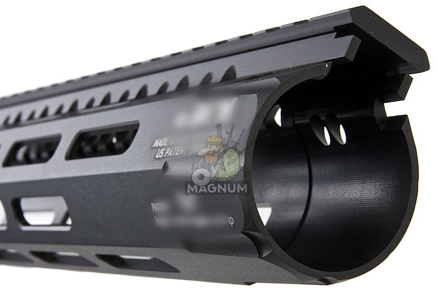Angry Gun BCM Style CMR 8 inch M-LOK Rail Airsoft Version for GBB / AEG / PTW - Black