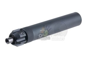 Angry Gun Power Up Silencer for KSC / KWA MP7 -Black