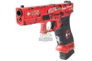 Ascend Deadpool DP17 Gas Blowback Pistol (by WE)