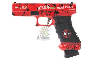 Ascend Deadpool DP17 Gas Blowback Pistol - Force Trigger (by WE)