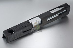Airsoft Surgeon Steel Custom Slide 5 inch for Cybergun M&P9 Full Size