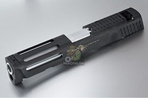 Airsoft Surgeon Steel Custom Slide 4.25 inch for Cybergun M&P9 Full Size