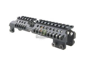 Airsoft Surgeon B-31C AK Handguard for AK74 / AK105 AEG / GBB - Black