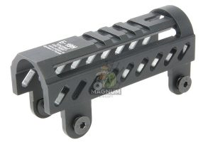 Airsoft Surgeon B-19N Classic AK Gas Tube Cover for LCT / GHK AK Series(except AKS74U) - Black
