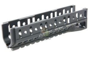 Airsoft Surgeon B-10U Classic Ak Handguard for LCT / GHK AK Series(except AKS74U) - Black