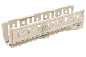 Airsoft Surgeon B-10U Classic Ak Handguard for LCT / GHK AK Series(except AKS74U) - TAN