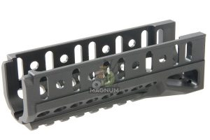 Airsoft Surgeon B-11U Railed Handguard for LCT / GHK AKS74U - Black