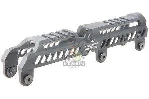 Airsoft Surgeon B-31N Classic Low Profile Handguard for LCT / GHK AK AEG / GBBR - Black