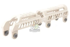 Airsoft Surgeon B-31N Classic Low Profile Handguard for LCT / GHK AK AEG / GBBR - Desert TAN