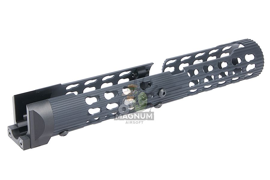 Airsoft Surgeon VS-25 Aluminum AK-105 Tubular Handguard for LCT / GHK AK AEG / GBB Series