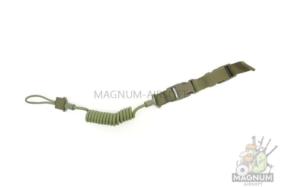 AS SL0018OD - ШНУР страховочный Multi-functional Adjustable Tactical Pistol Sling Olive AS-SL0018OD