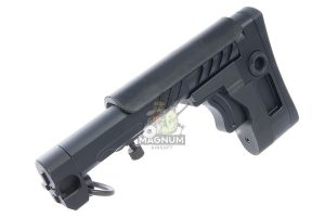 Airsoft Surgeon PT-3 AK Telescopic Foldable Stock for AK AEG / GBB - Black