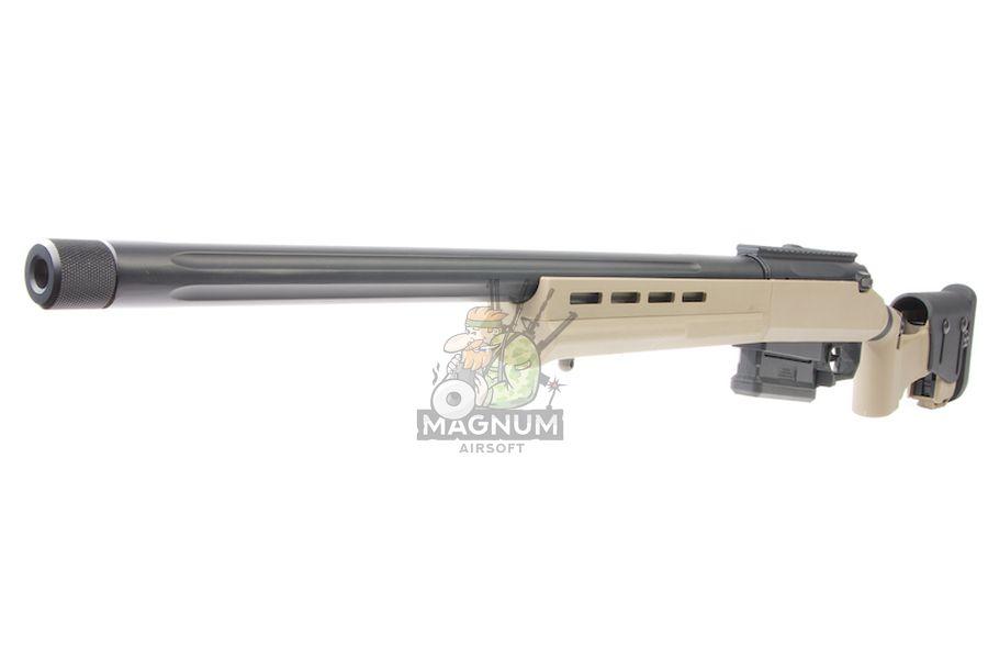 ARES Amoeba Tactical 'STRIKER' AST-01 Sniper Rifle - Dark Earth