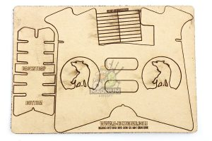 A-ZONE Gear REDWOLF INLAY for G Series (Clearance)