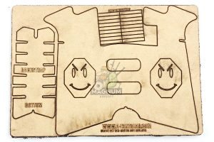 A-ZONE Gear HAPPY IPSC TARGET for G Series (Clearance)