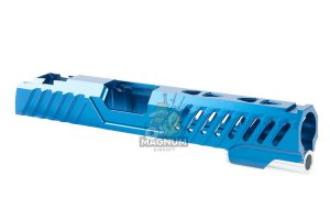EDGE Custom 'RAZOR' Standard Slide for Tokyo Marui Hi-Capa / 1911 GBB Pistol - Blue (by Guns Modify)
