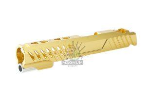 EDGE Custom 'RAZOR' Standard Slide for Tokyo Marui Hi-Capa / 1911 GBB Pistol - Gold (by Guns Modify)