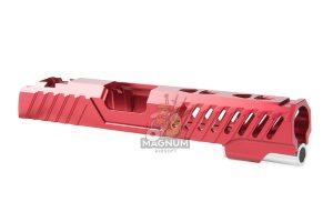 EDGE Custom 'RAZOR' Standard Slide for Tokyo Marui Hi-Capa / 1911 GBB Pistol - Red (by Guns Modify)
