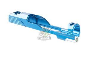 EDGE Custom 'MEGA' Standard Slide for Tokyo Marui Hi-Capa / 1911 GBB Pistol - Blue (by Guns Modify)