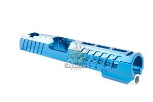 EDGE Custom 'ANA' Standard Slide for Tokyo Marui Hi-Capa / 1911 GBB Pistol - Blue (by Guns Modify)