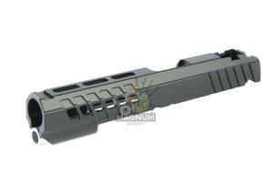 EDGE Custom 'ANA' Standard Slide for Tokyo Marui Hi-Capa / 1911 GBB Pistol - Black (by Guns Modify)