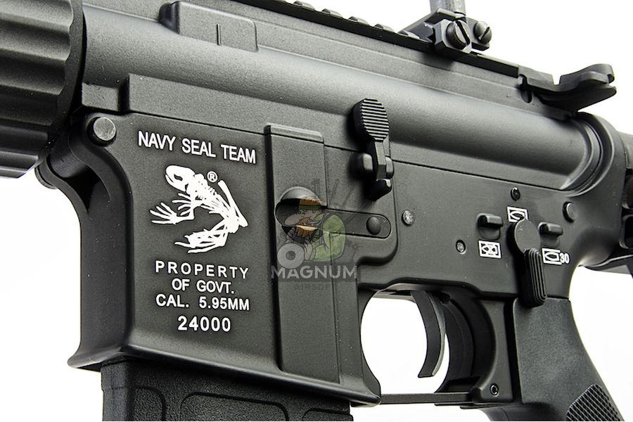 G&P E.G.T. 14.5inch Recce M4 AEG Rifle - Black