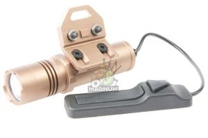 OPSMEN FAST 302M Weapon Light for Keymod System (400 Lumen) - Coyote Tan