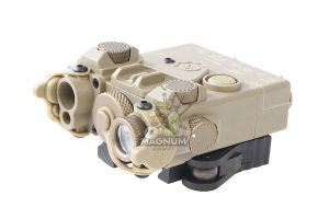 GK Tactical DBAL-2 Laser Devices (Red Laser) - Dark Earth