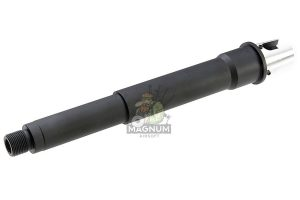G&P Aluminum 6.5 inch Taper Outer Barrel for G&P Front Set / RAS Series AEG  (14mm CW) - Black