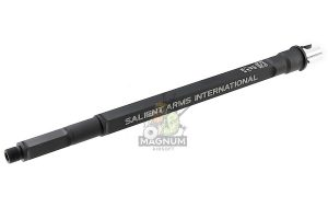 G&P Aluminum SAI 13 inch Taper Square Outer Barrel for G&P Front Set / RAS Series AEG  (14mm CW) - Black