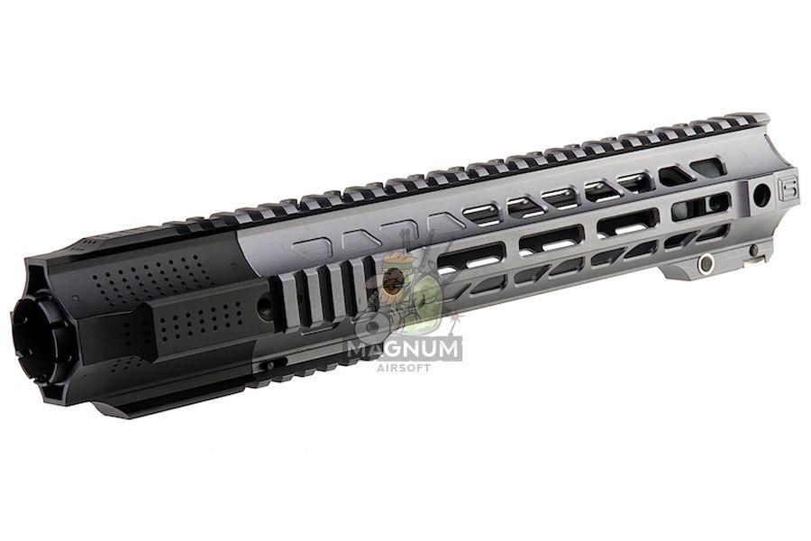 G&P Short Railed Handguard with SAI QD System for Tokyo Marui M4 / M16 AEG/ GBB Rifle  - Gray