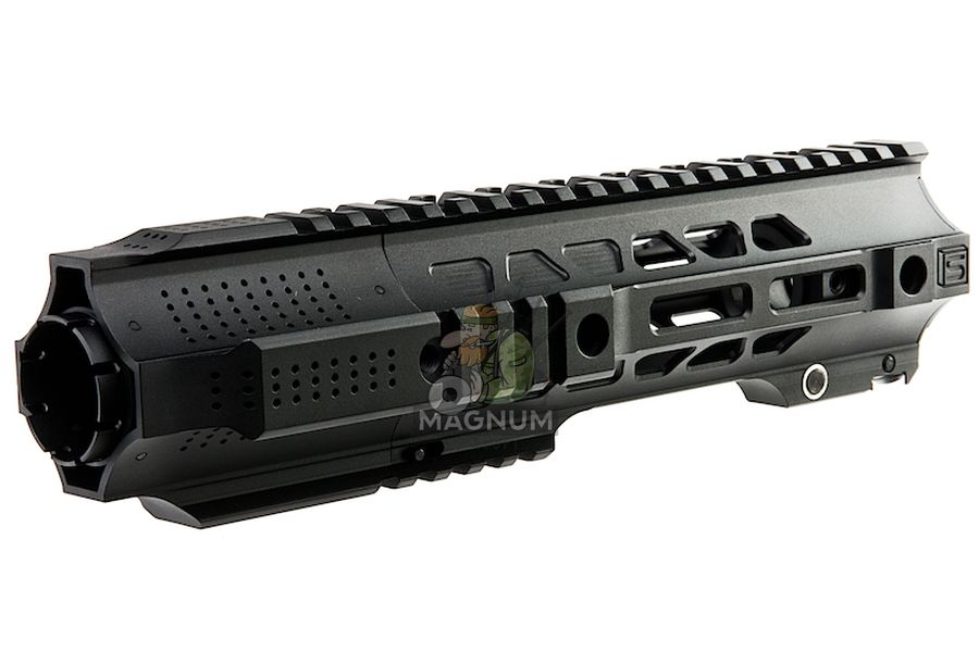 G&P CQB Railed Handguard with SAI QD System for Tokyo Marui M4 / M16 AEG/ GBB Rifle - Black