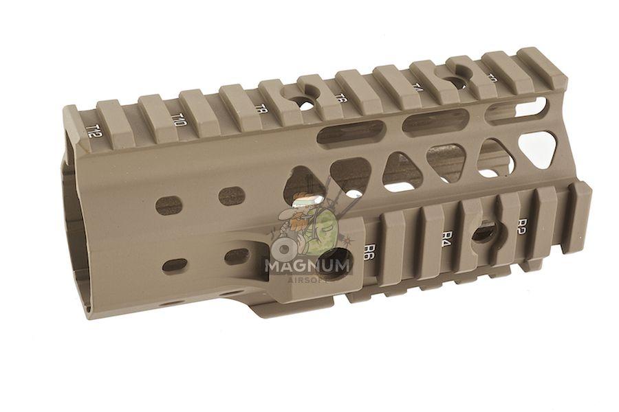 G&P MOTS 5 inch Keymod (Sand) for Tokyo Marui M4 / M16 Series