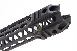 G&P MOTS 9 inch Upper Cut Keymod for Tokyo Marui M4 / M16 Series (Black)