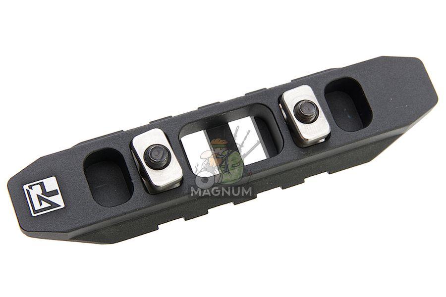 G&P M-Lok / Keymod 85mm Rail Type B  - Black