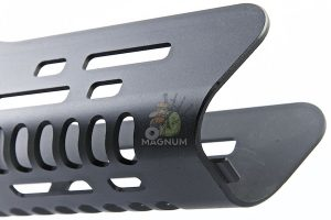 ARES CNC Handguard for Ares T21 AEG Rifle - Short 152mm (Black)