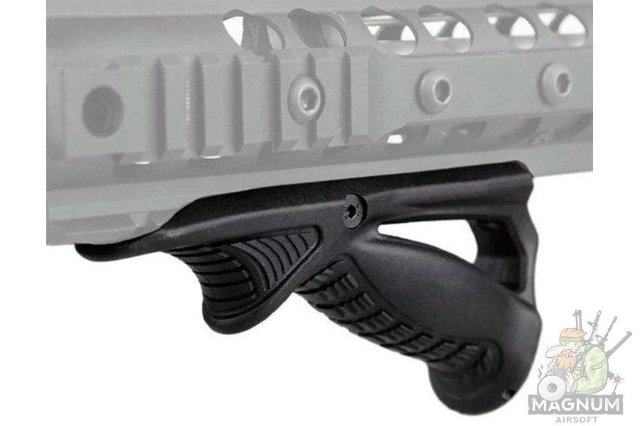 HY 219 4 - РУКОЯТКА ПЕРЕДНЯЯ НА RIS ТРЕУГОЛЬНАЯ ACM Angled Fore Grip HY-219 (BK)