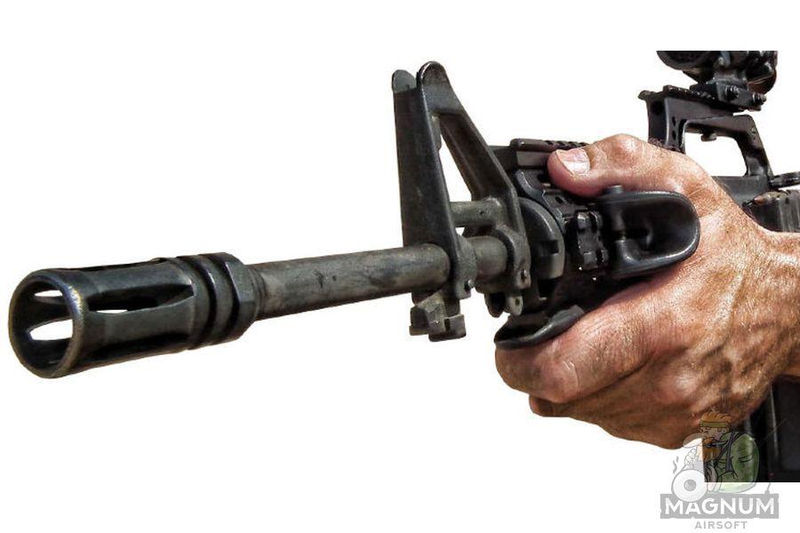 HY 219 5 - РУКОЯТКА ПЕРЕДНЯЯ НА RIS ТРЕУГОЛЬНАЯ ACM Angled Fore Grip HY-219 (BK)