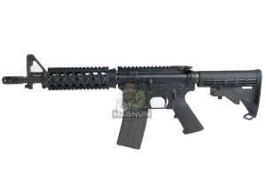 Inokatsu COLT M4 CQBR Gas Blowback Rifle (Customized to Use Modified GHK Gas Magazine)