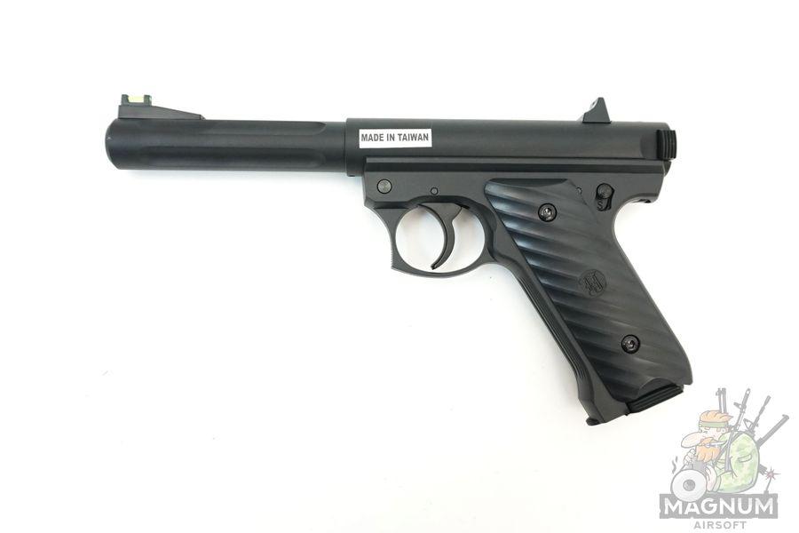 KJW MK2 Ruger Black GGH 0203 1 - Страйкбольный пистолет KJW MK2 Ruger Black (GGH-0203)