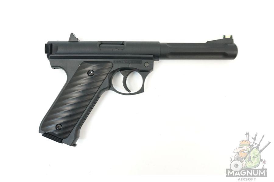 KJW MK2 Ruger Black GGH 0203 2 - Страйкбольный пистолет KJW MK2 Ruger Black (GGH-0203)