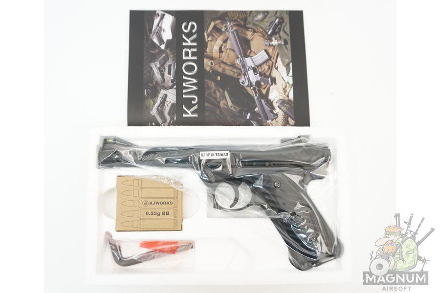 KJW MK2 Ruger Black GGH 0203 3 - Страйкбольный пистолет KJW MK2 Ruger Black (GGH-0203)