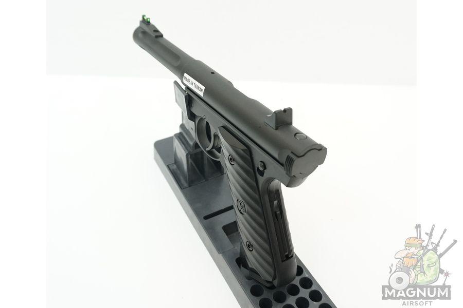 KJW MK2 Ruger Black GGH 0203 4 - Страйкбольный пистолет KJW MK2 Ruger Black (GGH-0203)