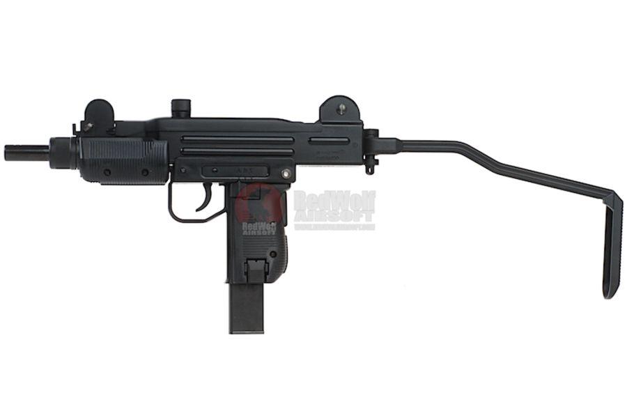KMB07HN 1L - KWC Mini Uzi CO2 Blowback 4.5mm SMG Air Gun