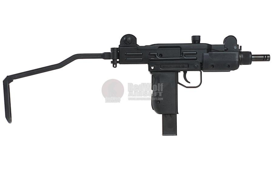KMB07HN 2L - KWC Mini Uzi CO2 Blowback 4.5mm SMG Air Gun