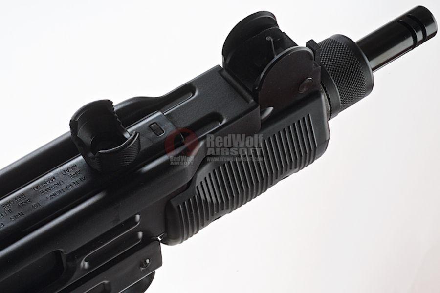 KMB07HN 3L - KWC Mini Uzi CO2 Blowback 4.5mm SMG Air Gun